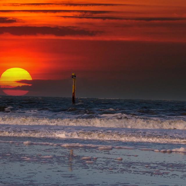 """Sonnenuntergang"" stock image"
