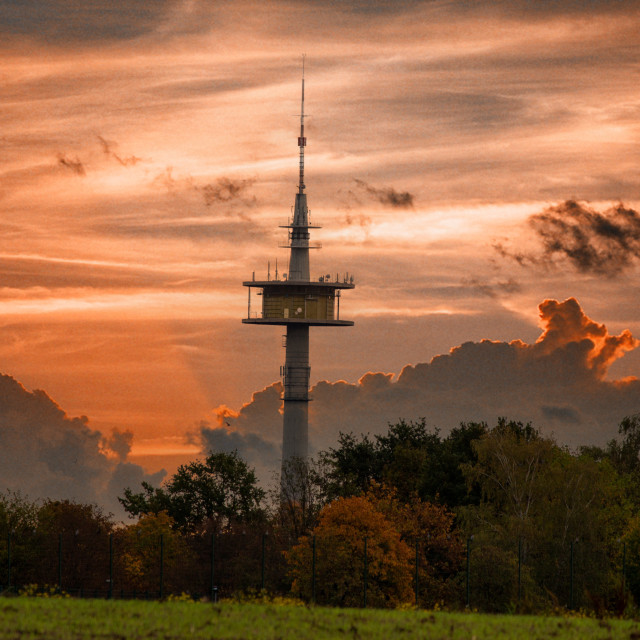 """Sendenhorst Tower"" stock image"