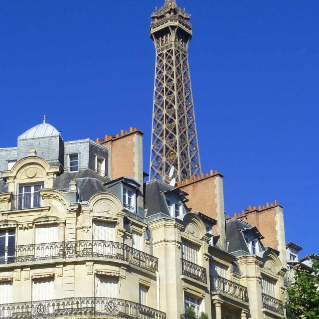 """Eiffel Tower Paris France"" stock image"