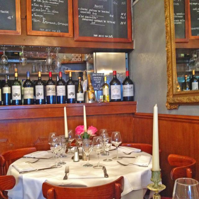 """""""Le Reminet Restaurant Paris France"""" stock image"""