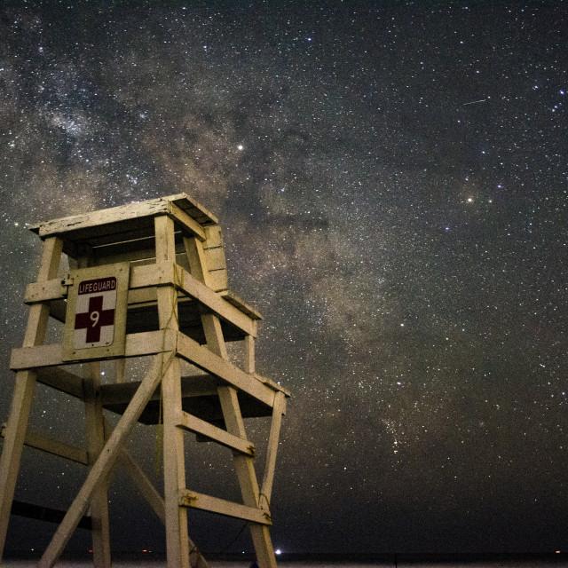 """Massachusetts Milky Way"" stock image"