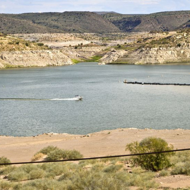 """""""Elephant Butte"""" stock image"""