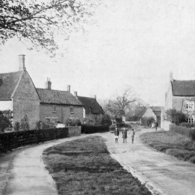 """""""Glinton - North Fen Road"""" stock image"""