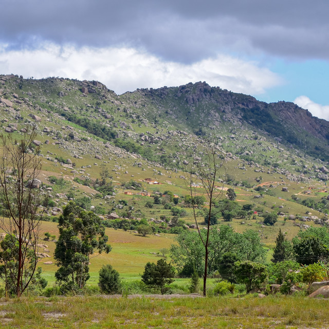 """""""Swaziland landscape"""" stock image"""