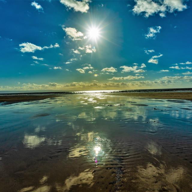 """Southerndown Beach"" stock image"