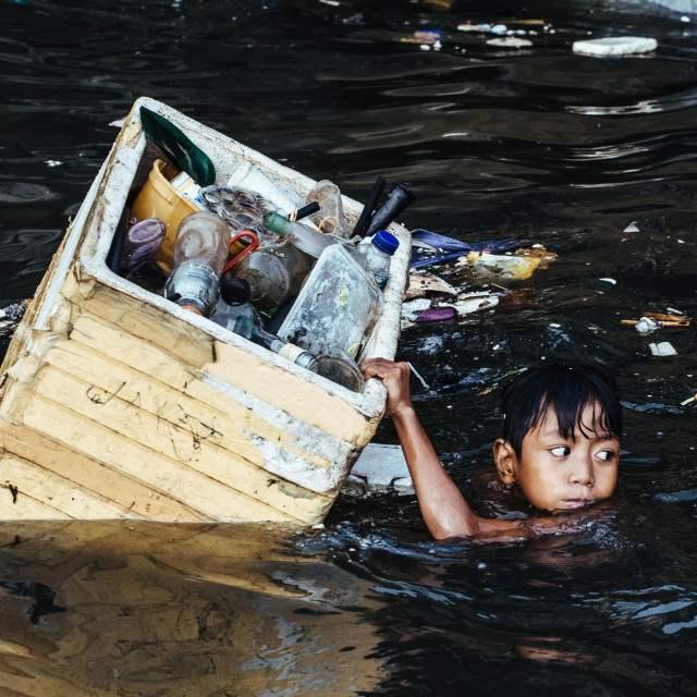 """Floating Kids Manila"" stock image"