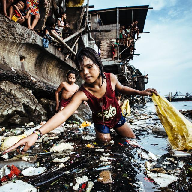 """UNICEF Foto des Jahres 2019"" stock image"