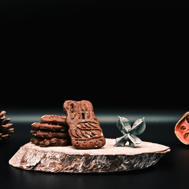 """""""Speculoos cookie"""" stock image"""