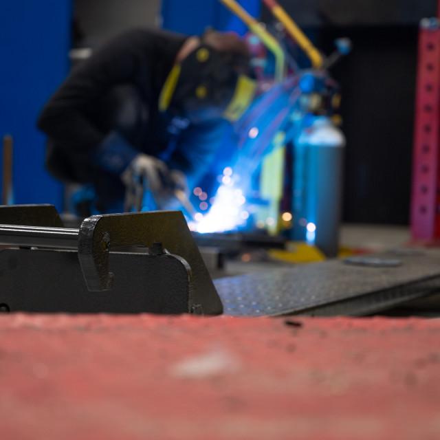 """""""Welding metal"""" stock image"""