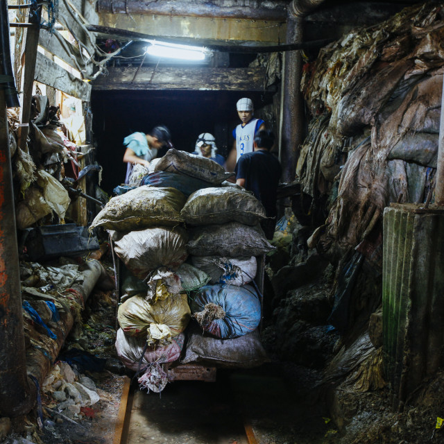 """Small Scale Mining for Gold - Kleinbergbau"" stock image"