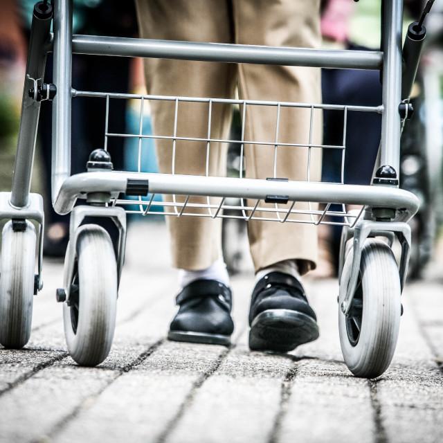 """Old Peoples Home - Symbolfoto zum Thema Altenpflege"" stock image"
