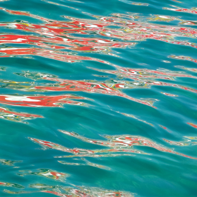 """""""Reflecting on Water #11"""" stock image"""