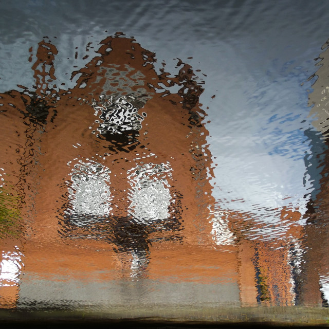 """""""Reflecting on Water #13"""" stock image"""