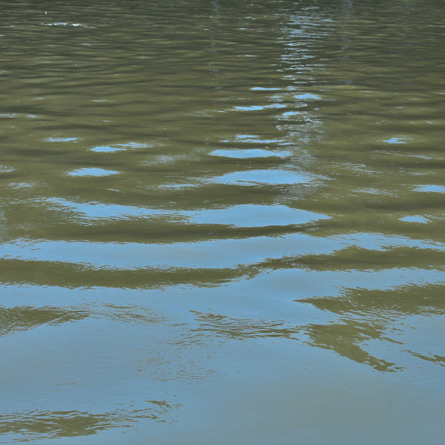 """""""Reflecting on Water #16"""" stock image"""