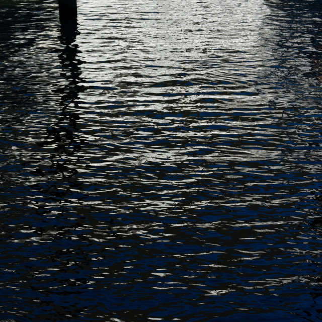 """""""Reflecting on Water #18"""" stock image"""
