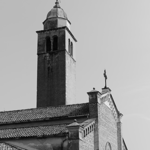 """""""The Tower at Asolo"""" stock image"""
