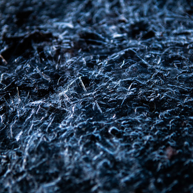 """Ice Crystals on Blacktop"" stock image"