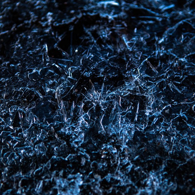 """Ice Crystals"" stock image"