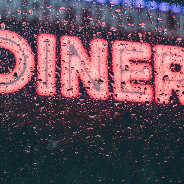 """Diner"" stock image"