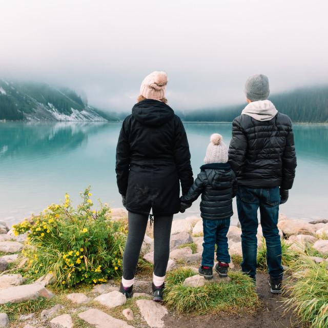 """Family adventure"" stock image"