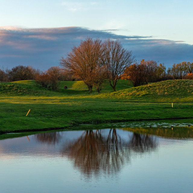 """Mill Green Golf Club"" stock image"