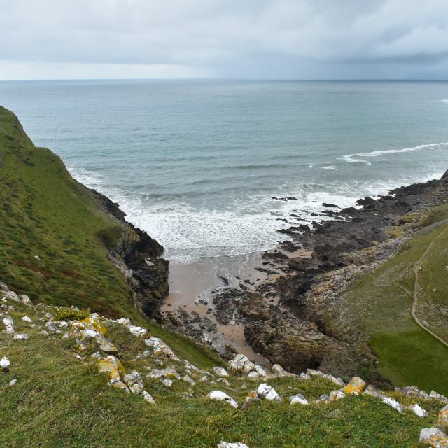 """""""Gower Coast #5"""" stock image"""