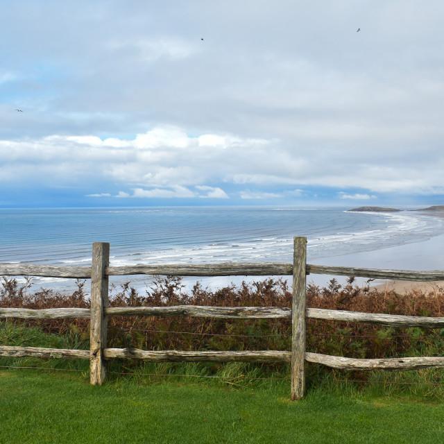 """""""Gower Coast #7"""" stock image"""