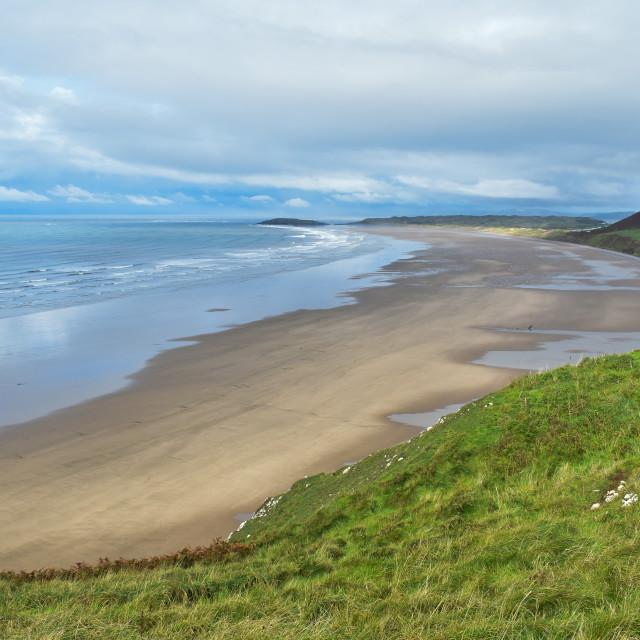 """""""Gower Coast #9"""" stock image"""