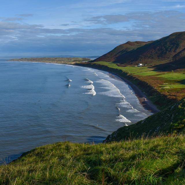 """""""Gower Coast #13"""" stock image"""