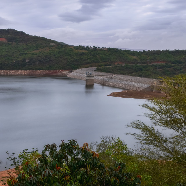 """Maguga Dam"" stock image"