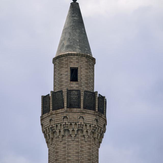 """Manzini mosque"" stock image"