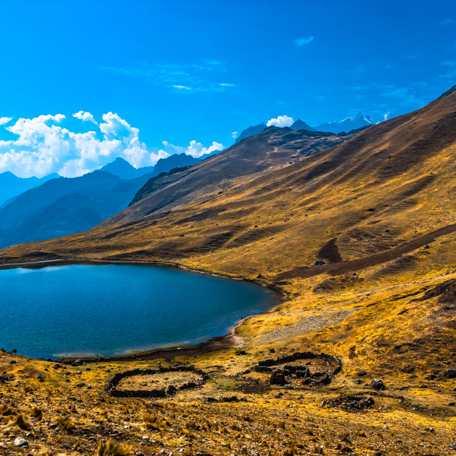 """Andes Peru"" stock image"