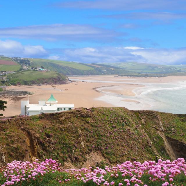 """Burgh Island South Devon"" stock image"