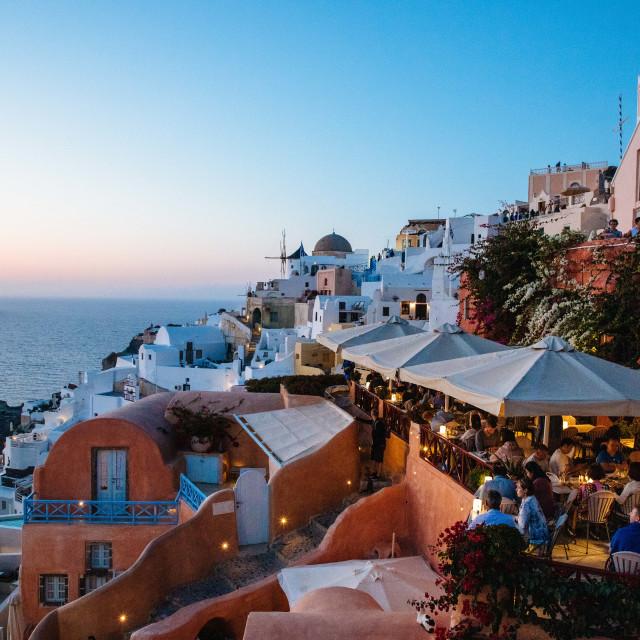 """Kykladeninsel Santorini"" stock image"