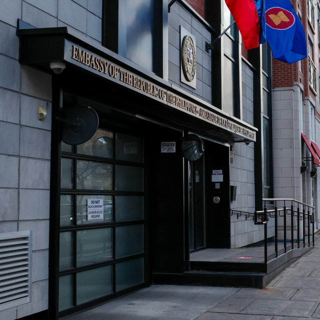 """""""Embassy of the Republic of the Philippines in Canada"""" stock image"""