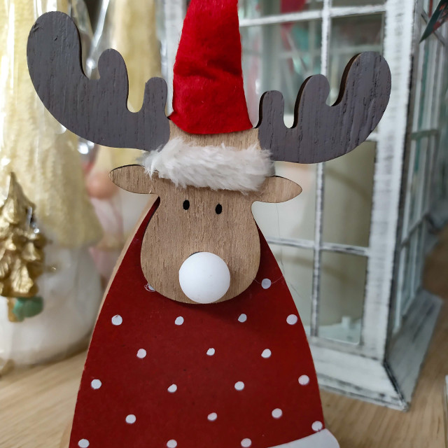 """""""Christmas decorations in a shop, items on sale for the holidays"""" stock image"""