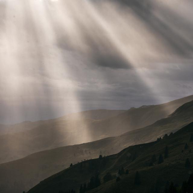 """""""Stormy sun"""" stock image"""