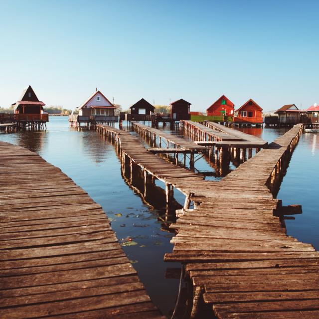 """Lake Bokodi"" stock image"