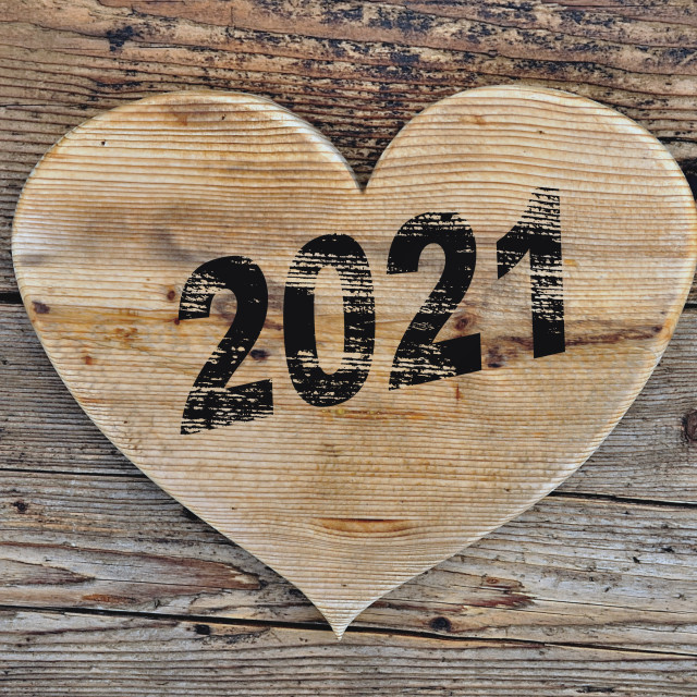 """""""close on a heart shaped on a rustic plank"""" stock image"""