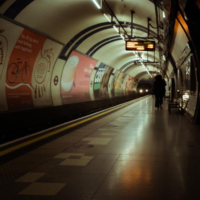 """Pandemic Underground"" stock image"