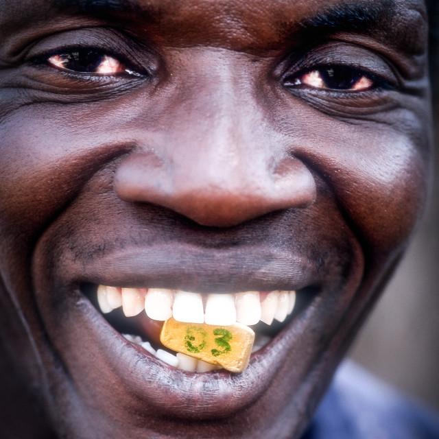"""Small Scale Mining in Burkina Faso - Gold im Kleinbergbau"" stock image"