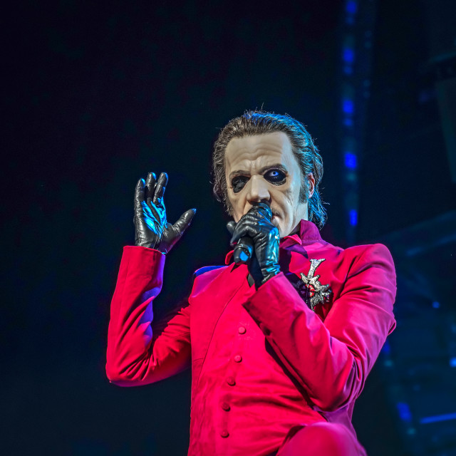 """""""Cardinal Copia of Ghost"""" stock image"""