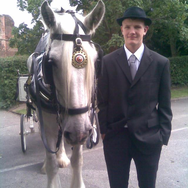 """""""Kirby Muxloe Wedding Leicestershire"""" stock image"""