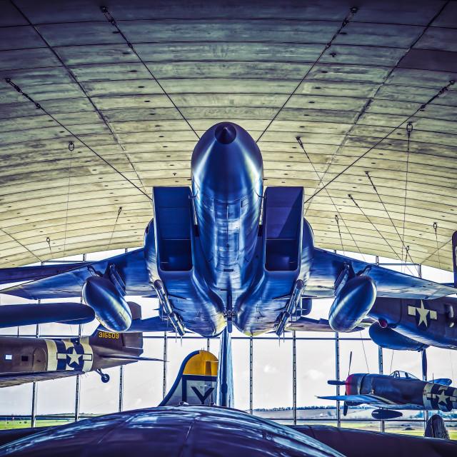 """""""Duxford American air museum. Cambridgeshire, UK."""" stock image"""