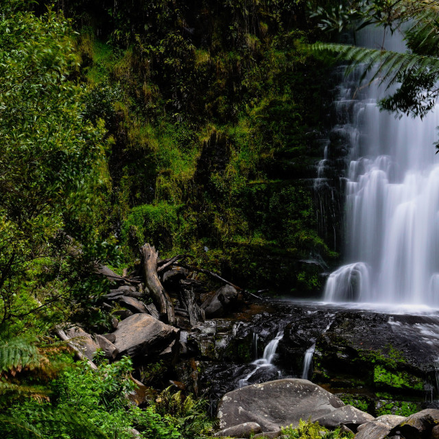 """""""Erskin Falls"""" stock image"""