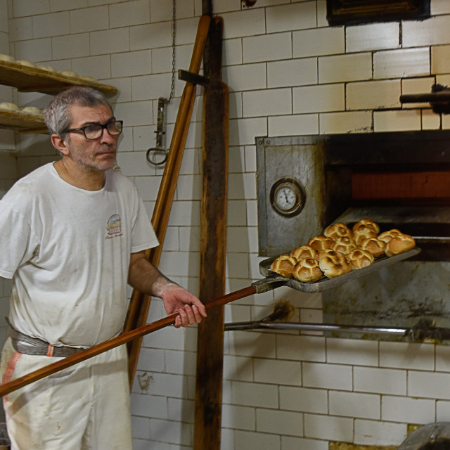"""""""Old style bakery oven"""" stock image"""