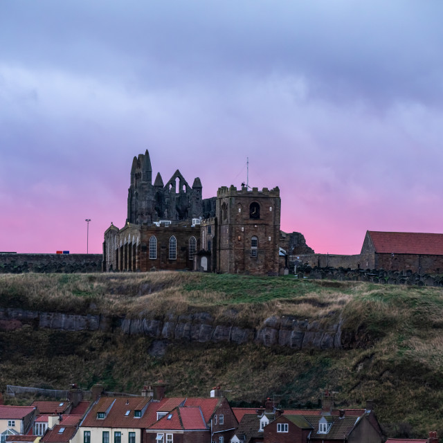 """""""Early Morning Whitby"""" stock image"""