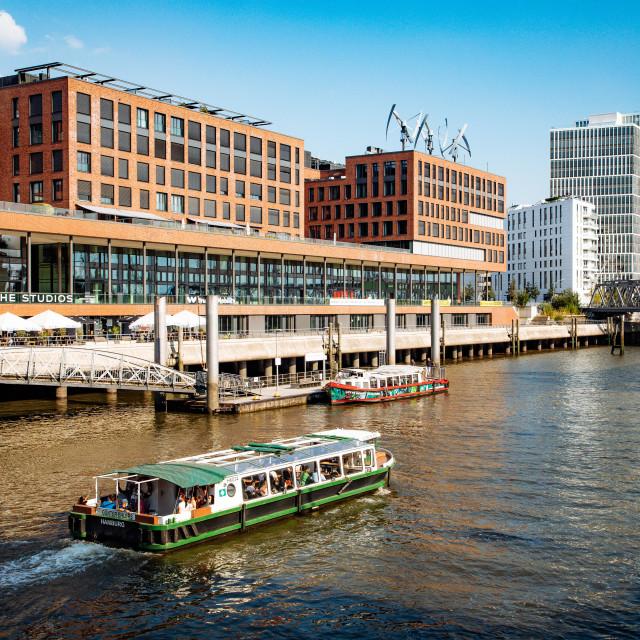 """Greenpeace Germany Headquarter at Hamburger Hafencity"" stock image"