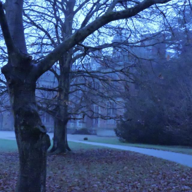 """Sudbury Hall Derbyshire November"" stock image"