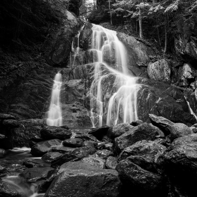 """Moss Glen Falls"" stock image"